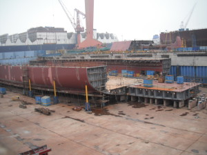 H1698 aft view at Dry Dock No. 1