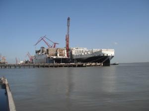 Atlantic Star & Sail at quay No. 3